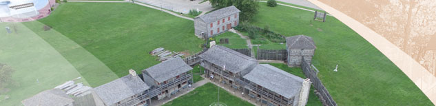 Aerial View of Old Fort Madison