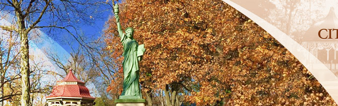 Lady Liberty in Central Park