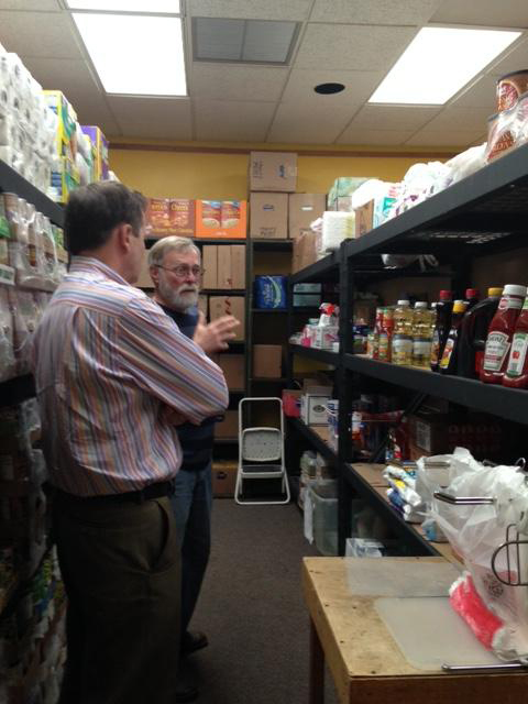 Mayor and G Gaudette Food Pantry